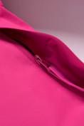 Оптом Парка зимняя Valianly для девочки розового цвета 9042R, фото 11