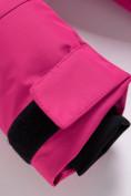 Оптом Парка зимняя Valianly для девочки розового цвета 9042R, фото 12