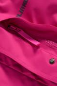 Оптом Парка зимняя Valianly для девочки розового цвета 9042R, фото 13