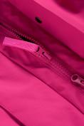 Оптом Парка зимняя Valianly для девочки розового цвета 9042R, фото 14