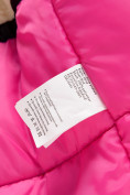 Оптом Парка зимняя Valianly для девочки розового цвета 9042R, фото 8
