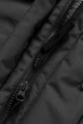 Оптом Парка зимняя Valianly для мальчика черного цвета 90431Ch, фото 11