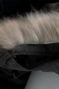 Оптом Парка зимняя Valianly для мальчика черного цвета 90431Ch, фото 6