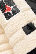 Оптом Парка зимняя Valianly для мальчика черного цвета 90431Ch, фото 9