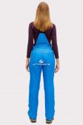 Оптом Брюки горнолыжные женские синего цвета 905S в Казани, фото 3