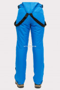 Оптом Брюки горнолыжные женские синего цвета 905S в Казани, фото 6