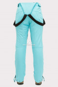 Оптом Брюки горнолыжные женские голубого цвета 905Gl в  Красноярске, фото 6