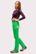 Оптом Брюки горнолыжные женские зеленого цвета 905Z, фото 2