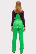 Оптом Брюки горнолыжные женские зеленого цвета 905Z в  Красноярске, фото 3