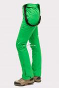 Оптом Брюки горнолыжные женские зеленого цвета 905Z, фото 5