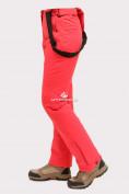 Оптом Брюки горнолыжные женские малинового цвета 905M в Екатеринбурге, фото 5