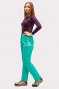 Оптом Брюки горнолыжные женские зеленого цвета 905-1Z в  Красноярске, фото 2