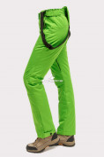 Оптом Брюки горнолыжные женские салатового цвета 905Sl в Волгоградке, фото 5
