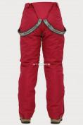Оптом Брюки горнолыжные женские бордового цвета 906Bo, фото 6