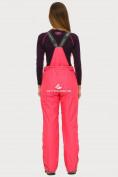 Оптом Брюки горнолыжные женские розового цвета 906R в  Красноярске, фото 4