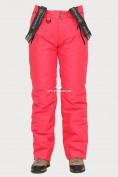 Оптом Брюки горнолыжные женские розового цвета 906R в  Красноярске, фото 2