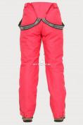Оптом Брюки горнолыжные женские розового цвета 906R в  Красноярске, фото 6