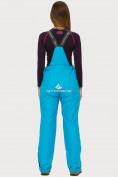 Оптом Брюки горнолыжные женские голубого цвета 906Gl в Екатеринбурге, фото 3