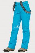 Оптом Брюки горнолыжные женские голубого цвета 906Gl в Екатеринбурге, фото 5