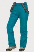 Оптом Брюки горнолыжные женские темно-зеленого цвета 906TZ в Казани, фото 5