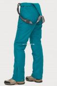 Оптом Брюки горнолыжные женские темно-зеленого цвета 906TZ в Казани, фото 6