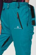 Оптом Брюки горнолыжные женские темно-зеленого цвета 906TZ в Казани, фото 8