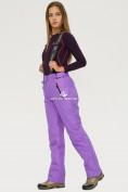 Оптом Брюки горнолыжные женские фиолетового цвета 906F, фото 3