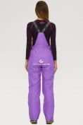 Оптом Брюки горнолыжные женские фиолетового цвета 906F, фото 2