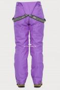 Оптом Брюки горнолыжные женские фиолетового цвета 906F, фото 5