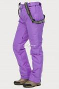 Оптом Брюки горнолыжные женские фиолетового цвета 906F, фото 6