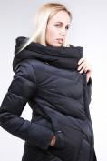 Оптом Куртка зимняя женская классическая черного цвета 9102_01Ch в Екатеринбурге, фото 2