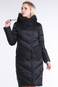 Оптом Куртка зимняя женская классическая черного цвета 9102_01Ch в Екатеринбурге, фото 4