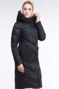 Оптом Куртка зимняя женская классическая черного цвета 9102_01Ch в Екатеринбурге, фото 5