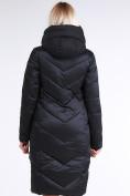 Оптом Куртка зимняя женская классическая черного цвета 9102_01Ch в Екатеринбурге, фото 6