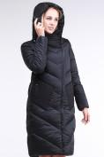 Оптом Куртка зимняя женская классическая черного цвета 9102_01Ch в Екатеринбурге, фото 7