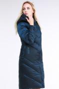 Оптом Куртка зимняя женская классическая темно-зеленого цвета 9102_03TZ в Екатеринбурге, фото 4