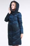Оптом Куртка зимняя женская классическая темно-зеленого цвета 9102_03TZ в Екатеринбурге, фото 6