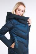 Оптом Куртка зимняя женская классическая темно-зеленого цвета 9102_03TZ в Екатеринбурге, фото 7