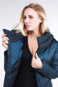 Оптом Куртка зимняя женская классическая темно-зеленого цвета 9102_03TZ в Екатеринбурге, фото 3