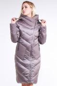 Оптом Куртка зимняя женская классическая бежевого цвета 9102_12B в  Красноярске, фото 3