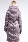 Оптом Куртка зимняя женская классическая бежевого цвета 9102_12B в  Красноярске, фото 5