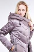 Оптом Куртка зимняя женская классическая бежевого цвета 9102_12B в  Красноярске, фото 7