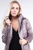 Оптом Куртка зимняя женская классическая бежевого цвета 9102_12B в  Красноярске, фото 8