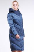 Оптом Куртка зимняя женская классическая темно-синего цвета 9102_22TS в Нижнем Новгороде, фото 2