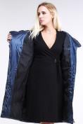 Оптом Куртка зимняя женская классическая темно-синего цвета 9102_22TS в Нижнем Новгороде, фото 7