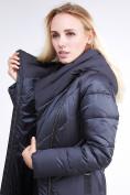 Оптом Куртка зимняя женская классическая темно-серого цвета 9102_29TС в Казани, фото 8