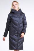 Оптом Куртка зимняя женская классическая темно-серого цвета 9102_29TС в Казани, фото 3