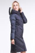 Оптом Куртка зимняя женская классическая темно-серого цвета 9102_29TС в Казани, фото 4