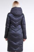 Оптом Куртка зимняя женская классическая темно-серого цвета 9102_29TС в Казани, фото 5
