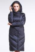 Оптом Куртка зимняя женская классическая темно-серого цвета 9102_29TС в Казани, фото 6